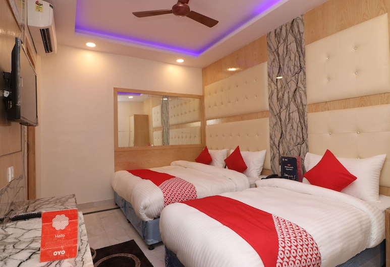 Check In Room Chuna Mandi, New Delhi, Deluxe driepersoonskamer, 1 slaapkamer, niet-roken, Kamer