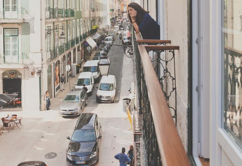 Esqina Urban Lodge, Lisboa, Dobbeltrom – classic, utsikt mot byen, Utsikt fra gjesterommet