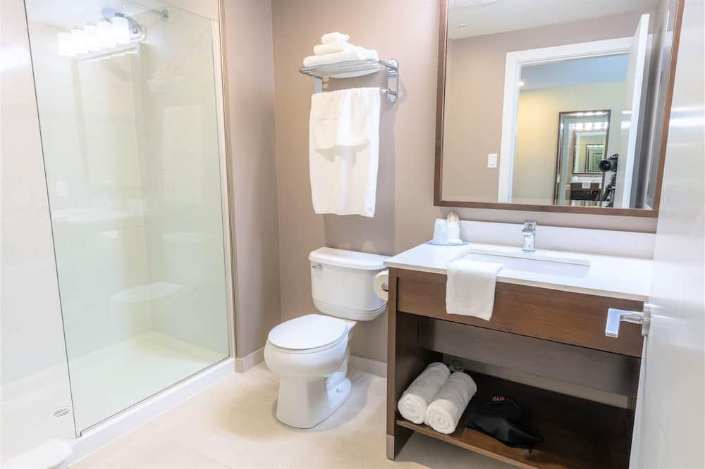 Chambre Premium, 1 très grand lit - Salle de bain