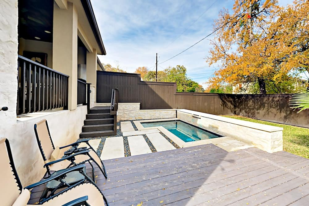 Ferienhaus, 4Schlafzimmer - Außen-Whirlpool