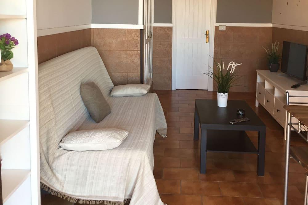 Apartamentai, 1 miegamasis, terasa (N. 2) - Svetainė