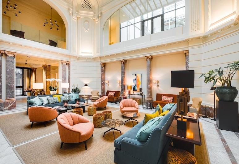 Hotel FRANQ, Antwerpen, Lobby-Lounge