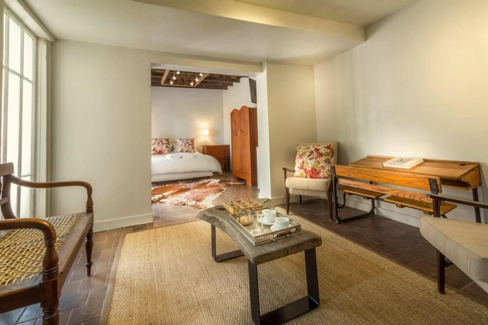 Chambre Luxe, 1 chambre - Coin séjour