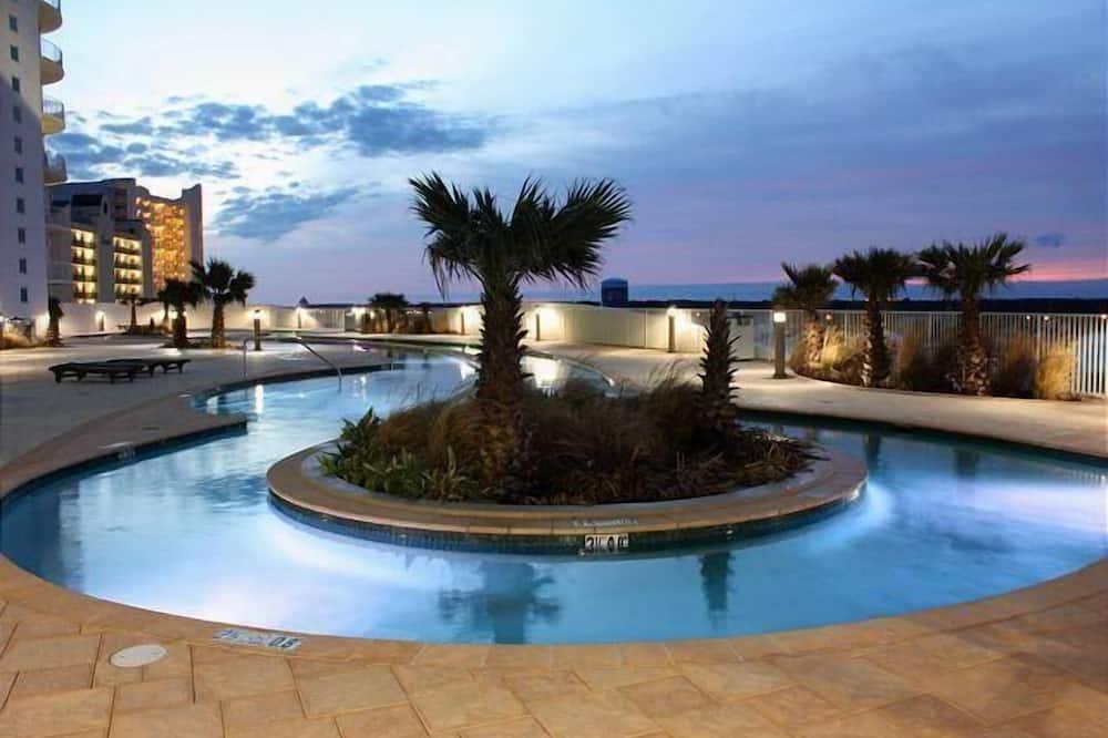 Квартира, Несколько кроватей (Turquoise Place Unit 1806D) - Открытый бассейн