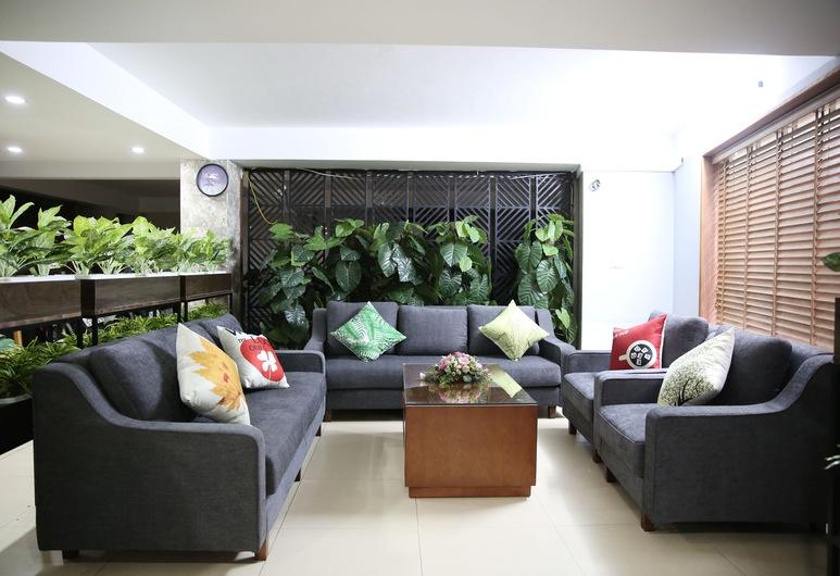 V-Studio Hotel Apartment 2, Hanoi, Zitruimte lobby