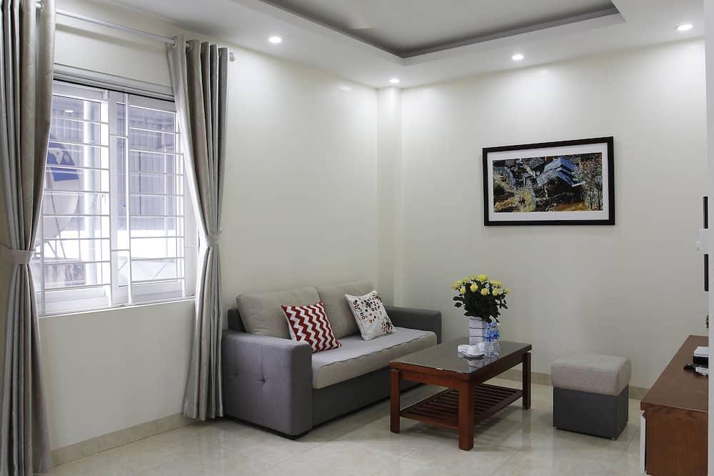 Apartament luksusowy, 1 sypialnia - Salon