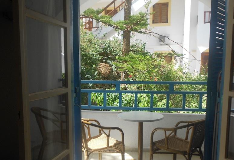 Elalia Apartments, Hersonissos, Apartment, 1 Bedroom, Garden View, Balcony