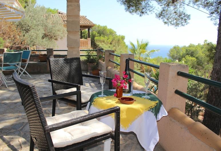 Villa Costa Blanes, Calvià, Familienvilla, 3Schlafzimmer, Meerblick, Terrasse/Patio