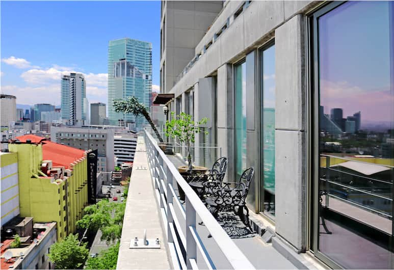 Puerta Alameda Suites, Mexico, Two Bedroom Apartment with Balcony , Terrasse/Patio