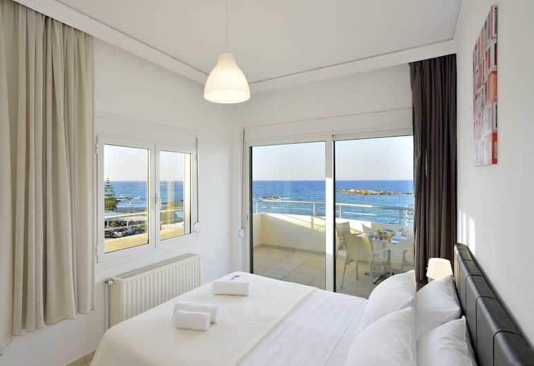 Kalamaki Apartments, Chania, Apartment, Multiple Beds, Non Smoking, Room