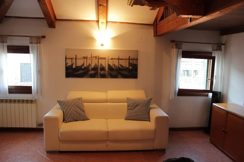 Comfort Loft, 1 Bedroom, City View, Tower - Ruang Tamu