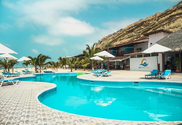 Nauti-K Beach Hotel, Zorritos, Āra baseins
