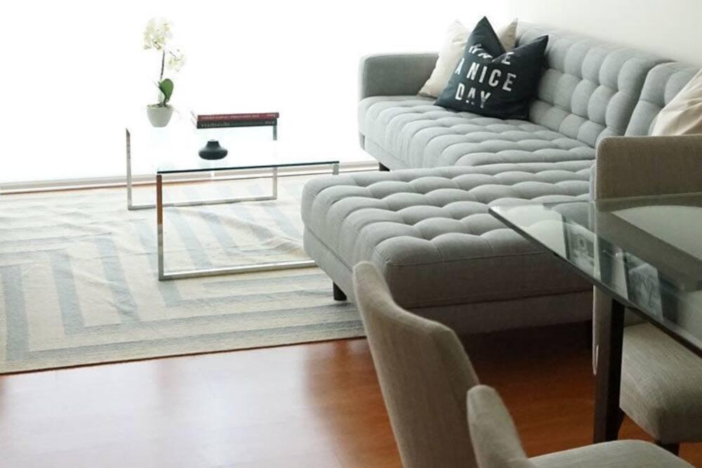 Апартаменти «Делюкс», 3 спальні - Вітальня