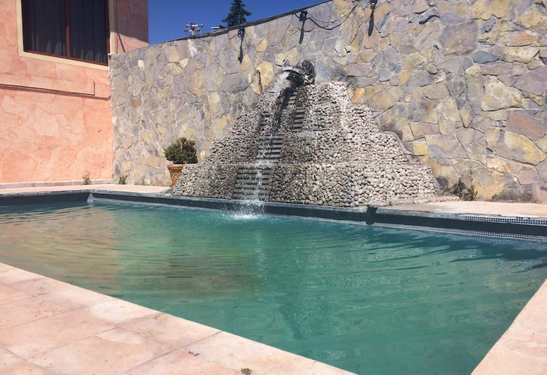 Hotel Boutique El Jaguar, San Martin de las Pirámides, Útilaug