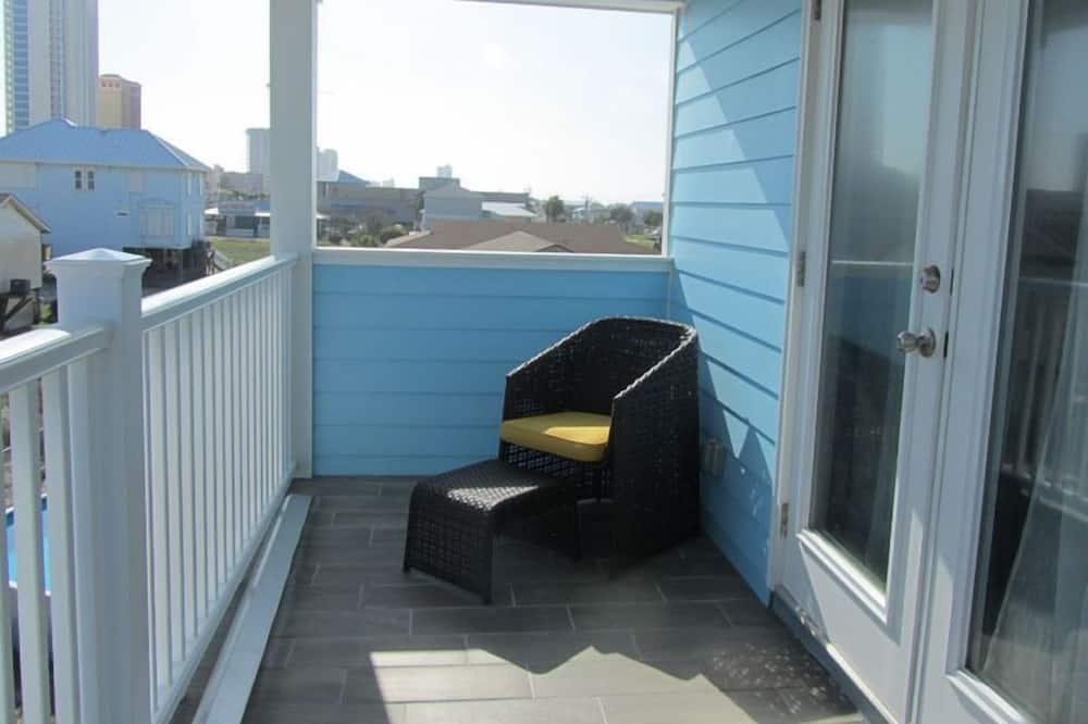 Kır Evi, 4 Yatak Odası, Balkon (Sea-La-Vie - 4 Bedroom Cottage) - Balkon