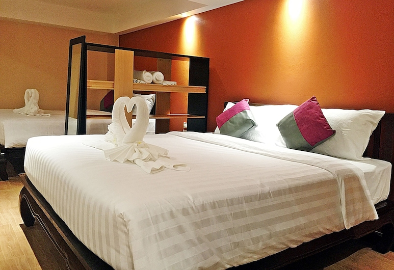 Baan Sang Singh, Chiang Mai, Suite with Two Double Beds, Guest Room