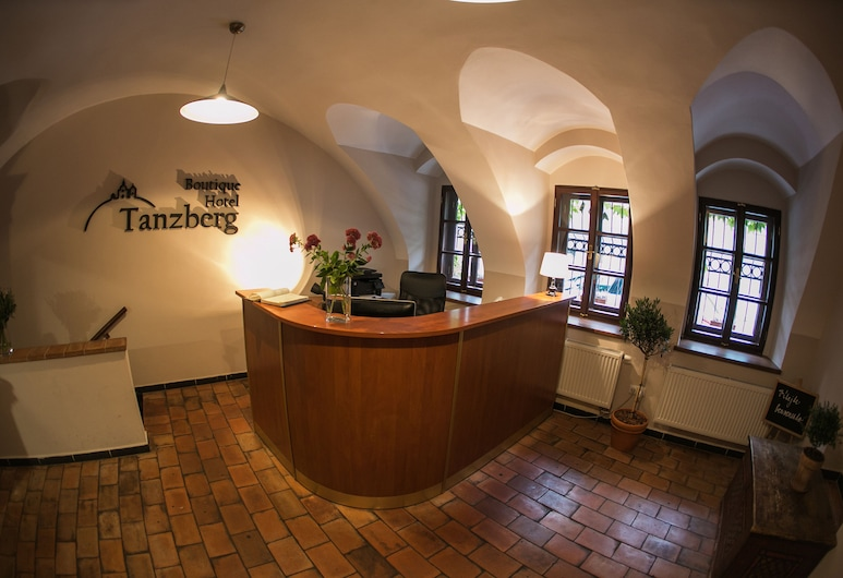 Boutique Hotel Tanzberg, Mikulov, Recepcija