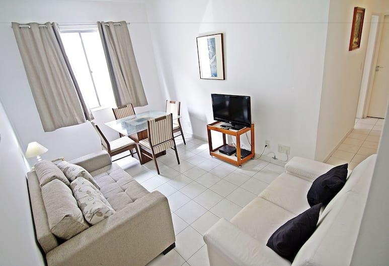 리오 스팟 아파트먼츠 D026, 리우데자네이루, 시티 아파트, 침실 2개, 시내 전망, 해변, 거실