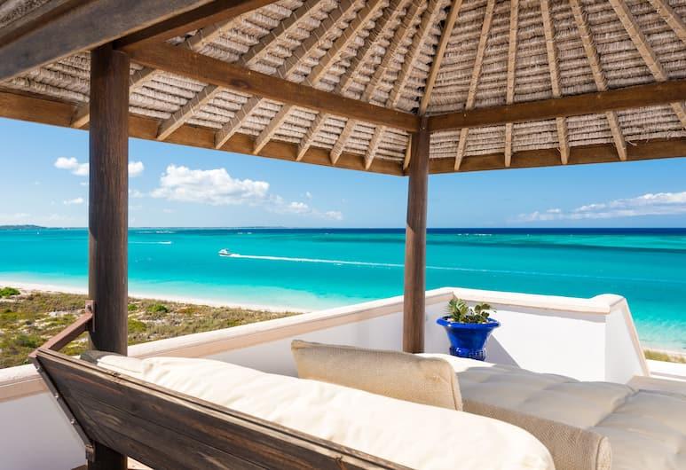 Point Grace, Providenciales-sziget, Penthouse, 1 hálószobával, óceánra néző, Erkély