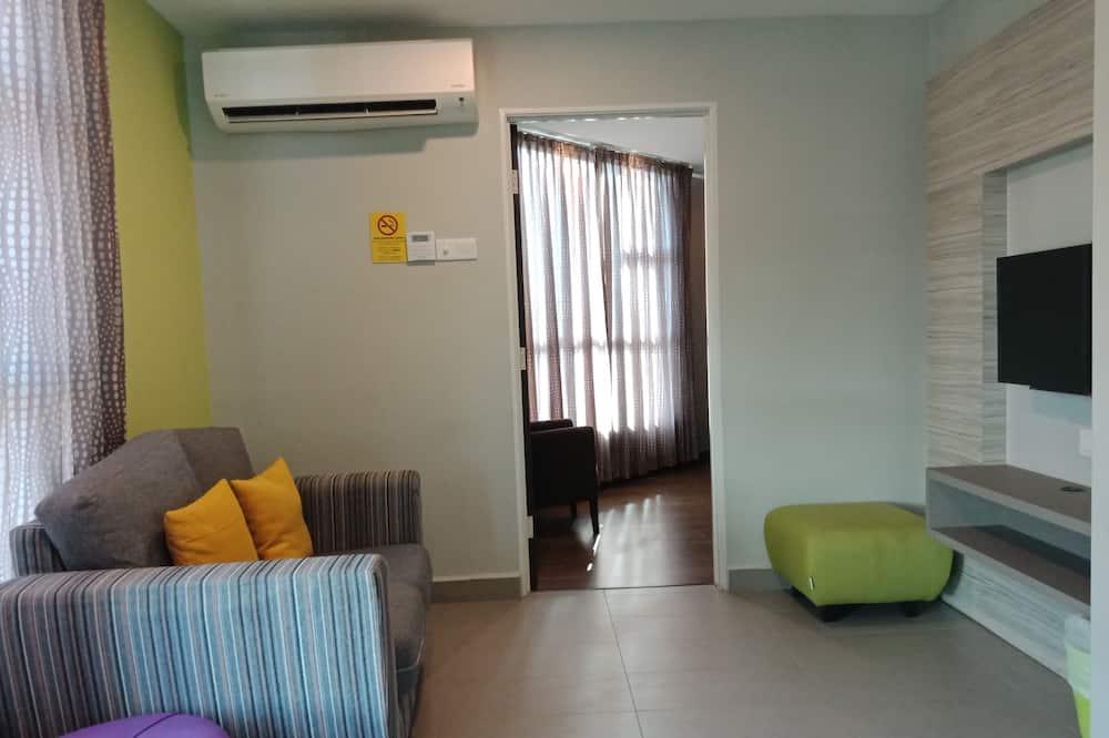 2-Bedroom Apartment Suite - リビング エリア