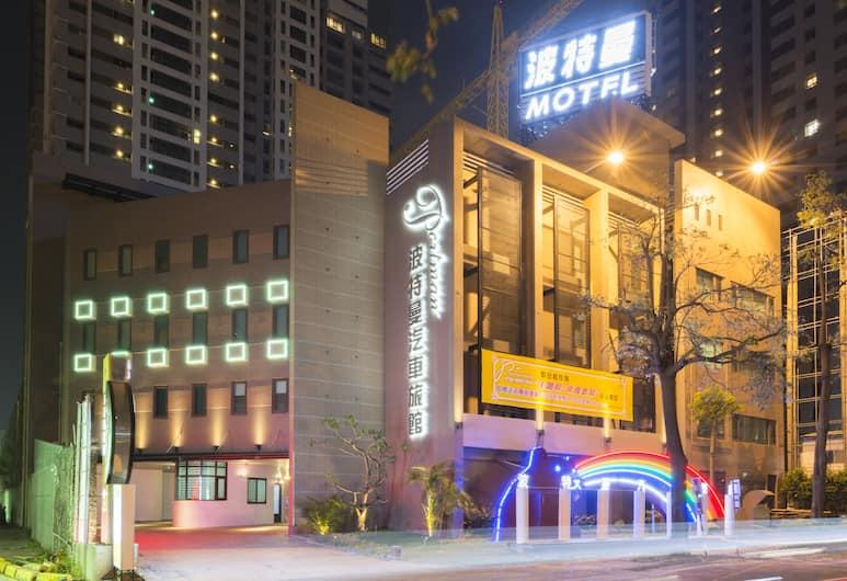 波特曼精品商務汽車旅館, 台中市, 飯店正面