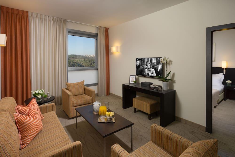 Suite, Mountain View - Bathroom