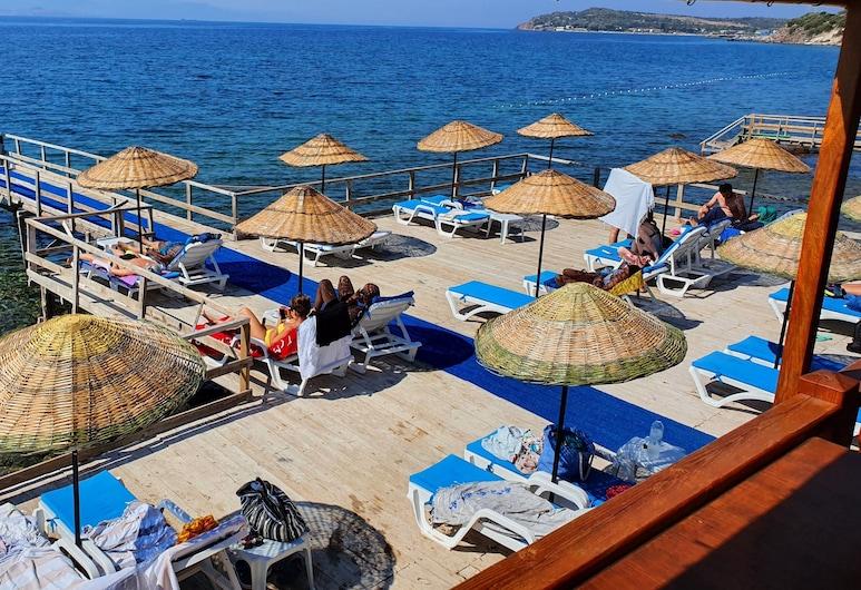 Assos Nazan Motel Restoran Beach, Ayvacik, Strand