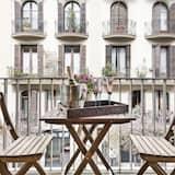 Apartment, 2Schlafzimmer, Balkon (Prats de Molló, 14) - Balkon