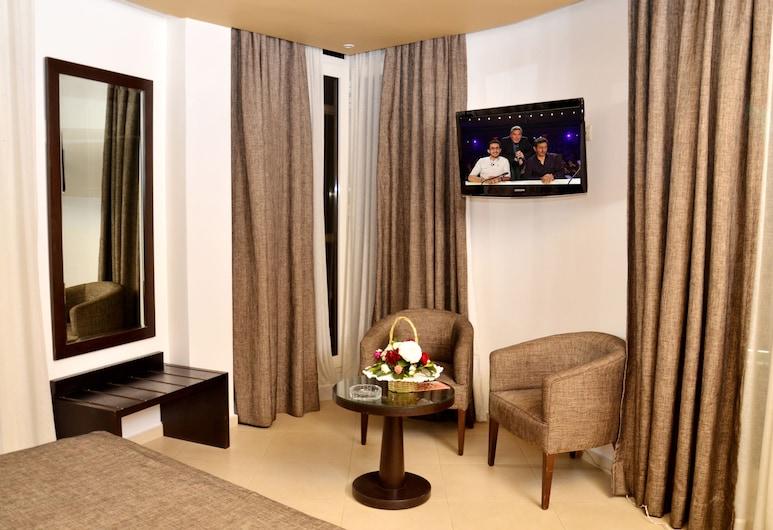 Malak Hotel, Rabat, Dobbeltrom – deluxe, Gjesterom