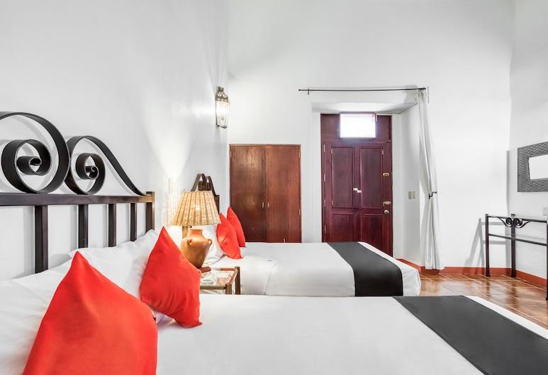 ホテル エル ニト, オアハカ, スタンダード ルーム ダブルベッド 2 台, 部屋