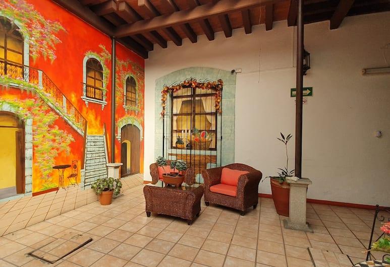 Hotel El Nito, Oaxaca, Lobby Sitting Area