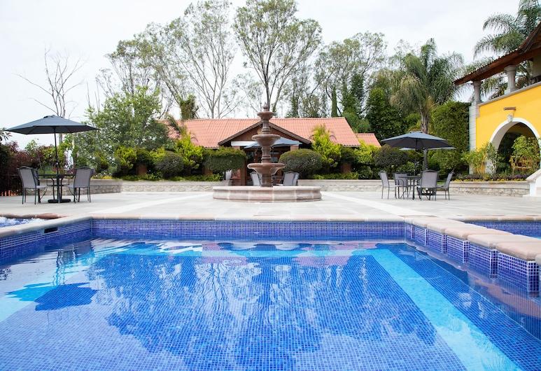 Hotel Hacienda Montesinos, Morelia, Vonkajší bazén