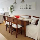 Apartemen Deluks, 3 kamar tidur, pemandangan kota - Ruang Keluarga