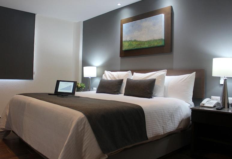 Eco Hotel Guadalajara Expo, Guadalajara, Superior-værelse - 1 kingsize-seng, Værelse