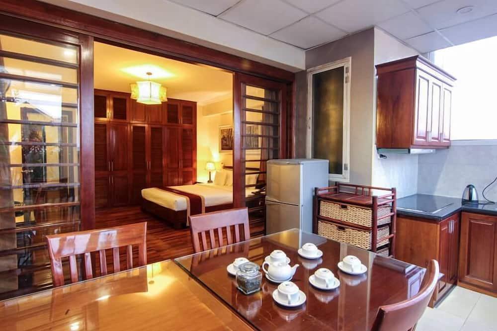 Executive-Suite, 2Schlafzimmer - Essbereich im Zimmer