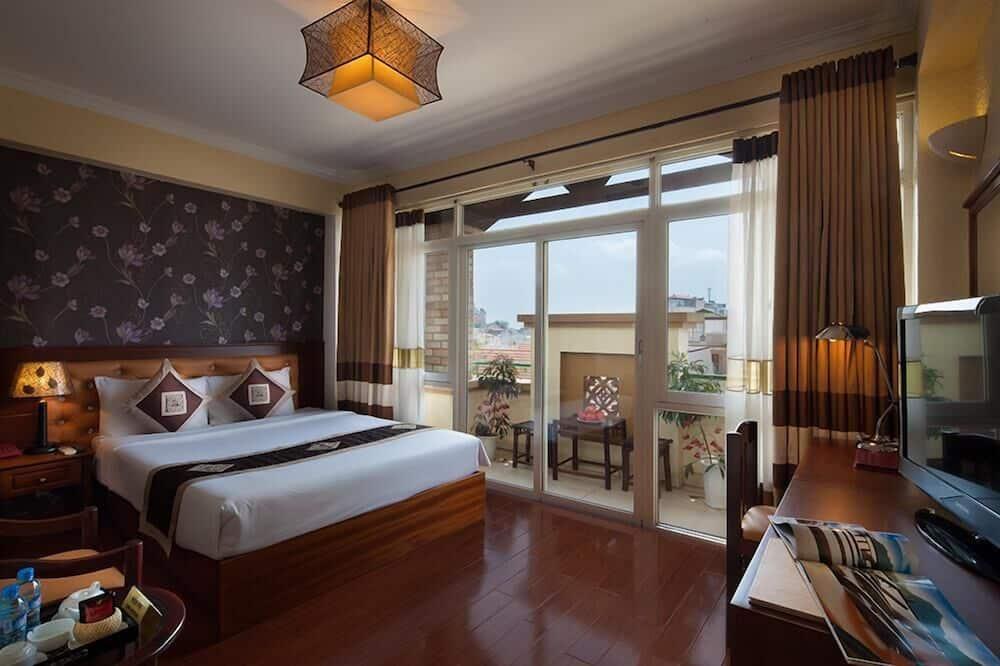 Deluxe-Zweibettzimmer, Mehrere Betten - Zimmer