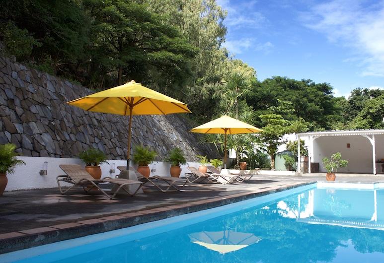 Escale Vacances, Ile Rodrigues, Piscine en plein air
