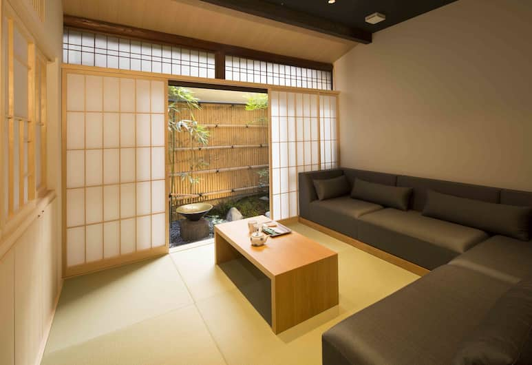 RESI STAY Gion Shijo, Kyoto, Suite, Living Area