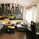 Comfort Penthouse, 2 Bedrooms (Wypoczynkowa 8) - Living Room