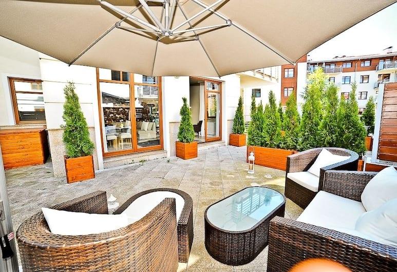 Grand Apartments - Neptun Park, Gdansk, Apartmán, terasa (Wypoczynkowa 10A Street), Terasa