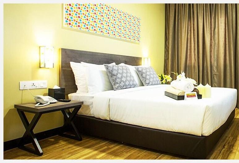 Humaira Hotel,  Tanah Merah, Habitación Deluxe, 1 cama de matrimonio, Habitación