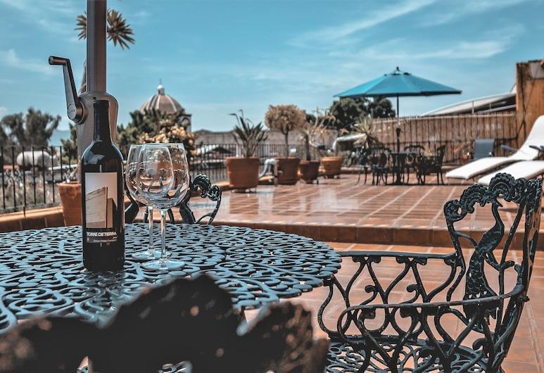 Parador Montecarmelo, Oaxaca, Terrace/Patio
