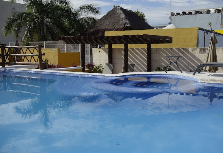Las Palmas Condominio, Playa del Carmen, Utomhuspool