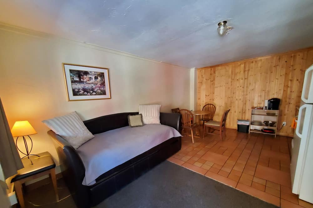 King Suite 1 - Woonruimte