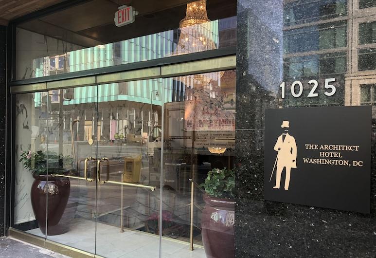 The Architect, Washington, Vchod do hotelu
