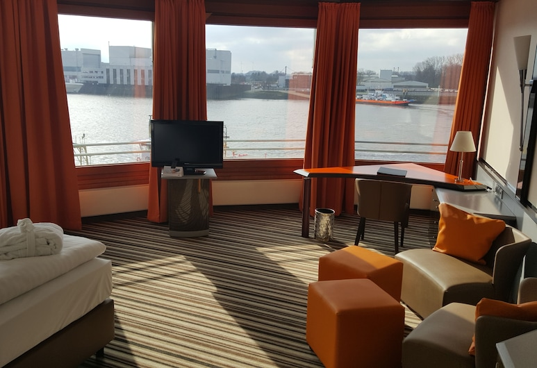 Hotel Strandlust Vegesack, Bremen, Suite, Area soggiorno