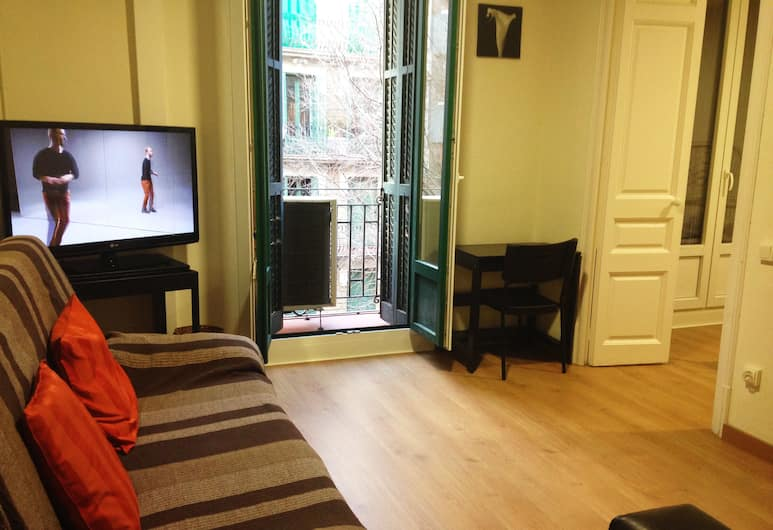 O&A Apartmets Barcelona: Florida, Barcelona, Lägenhet - 4 sovrum, Vardagsrum