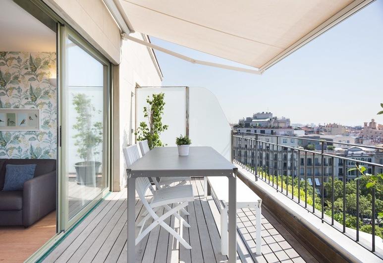 Bonavista Apartments - Pedrera, Barcelona, Penthouse Panorâmica, 2 Quartos, Terraço, Terraço/Pátio Interior