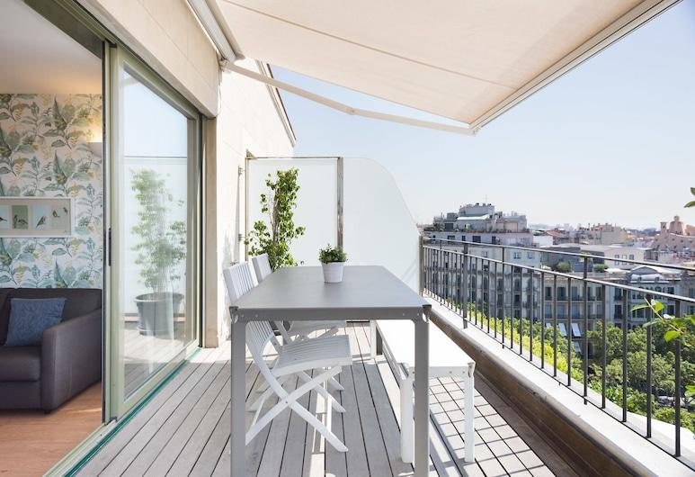 Bonavista Apartments - Pedrera, Barcelona, Penthouse Panoramic - 2 sovrum - terrass, Terrass