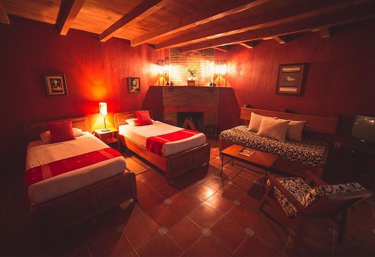 Hotel Molino de la Alborada, San Cristóbal de las Casas, Habitación estándar, 1 habitación, vista al jardín, Habitación